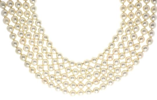 Chanel Chanel Vintage Multi-Strand Faux Pearl Necklace