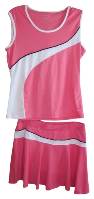 Item - Coral and White Activewear Sportswear Size 12 (L, 32, 33)