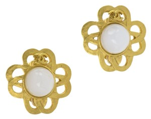 Chanel Chanel Vintage Gold Earrings