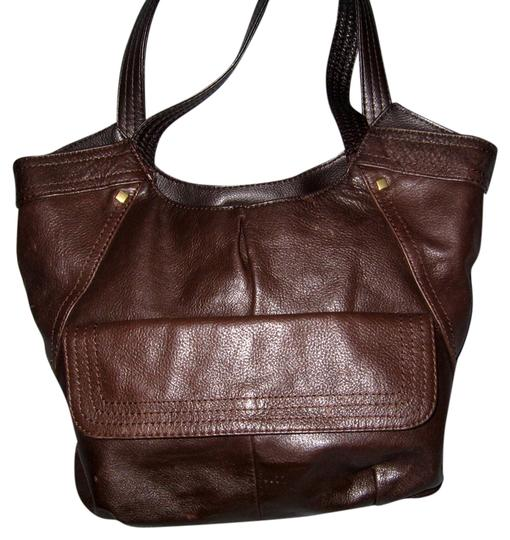 Preload https://item2.tradesy.com/images/worthington-brown-leather-tote-3703471-0-0.jpg?width=440&height=440