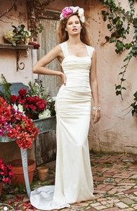 3221 Wtoo 53301 Size 10 Ivory Wedding Dress