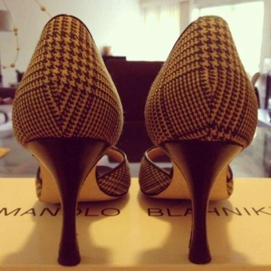 Manolo Blahnik D'orsay Multi Pumps