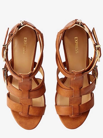 Express Brown Wedges