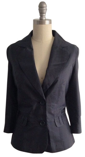 Preload https://img-static.tradesy.com/item/370562/reserved-navy-blue-striped-cocktail-jacket-blazer-size-10-m-0-1-650-650.jpg