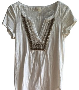 Anthropologie T Shirt Off White