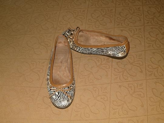 Aerosoles Great Fun Classic For Summer. Ballet Animal print, browns, camel & black Flats