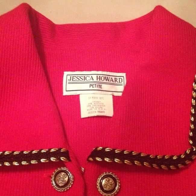 Jessica Howard Red Blazer