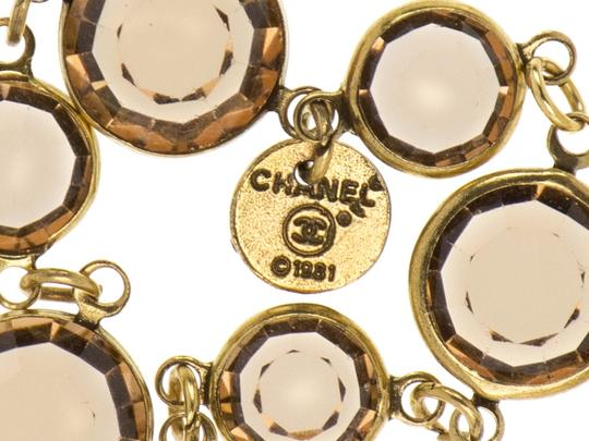 Chanel Chanel Chicklet Sautoir Brown Vintage Necklace