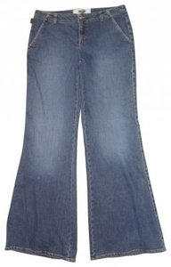 Moschino Trouser/Wide Leg Jeans-Medium Wash