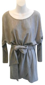 Halston short dress Gray on Tradesy