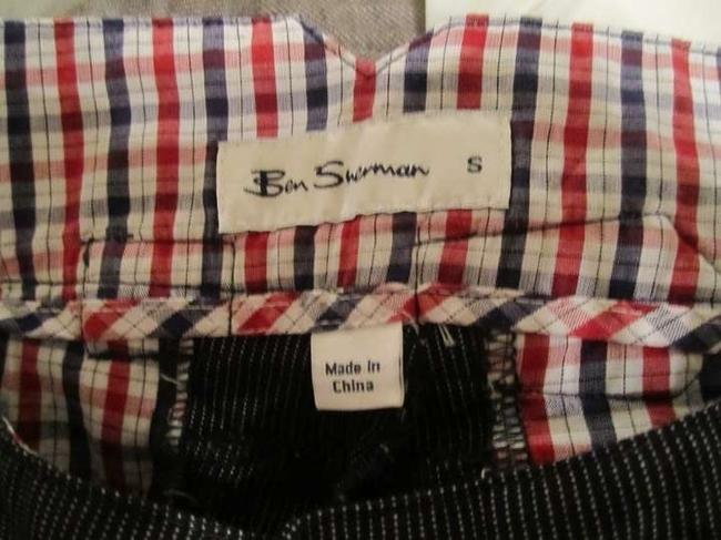 Ben Sherman Trouser Pants Navy Pinstripe