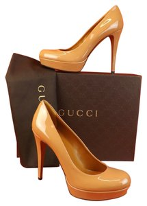 Gucci Beige,Caramel Pumps