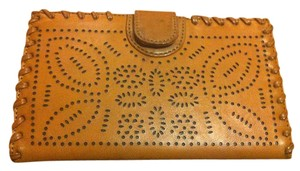 KC Collections Wallet/ Clutch with Perforated Design