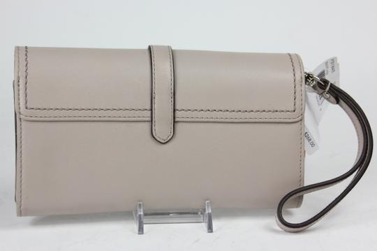 Coach * Coach Leather Hybrid Putty Wallet F51845 - Light Charcoal Beige
