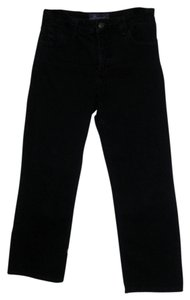 NYDJ Jeans Not Your Daughters Super Fit Natural Waist Straight Leg Jeans-Dark Rinse
