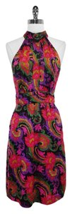J.Crew short dress Paisley Print Satin on Tradesy