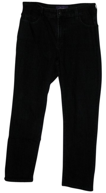 NYDY Not Your Daughters Jeans Great Fit Normal Waist Straight Leg Jeans-Dark Rinse