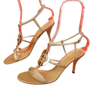 Gucci Champagne Sandals