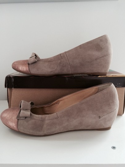 Paul Green Taupe Wedges