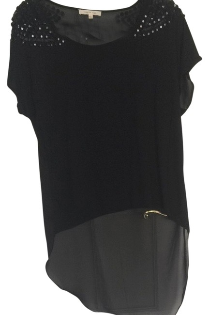 Preload https://item1.tradesy.com/images/english-rose-black-highlow-beaded-shirt-night-out-top-size-10-m-3708925-0-0.jpg?width=400&height=650