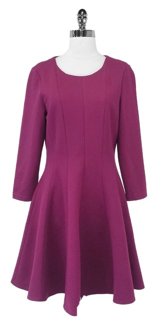 Preload https://item2.tradesy.com/images/tibi-magenta-fit-and-flare-mid-length-short-casual-dress-size-12-l-3709231-0-0.jpg?width=400&height=650