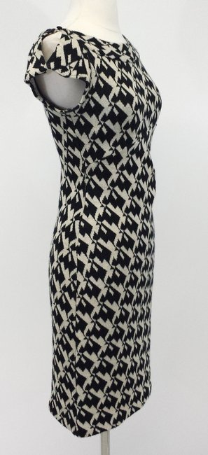 Diane von Furstenberg Wool Houndstooth Dress Image 1
