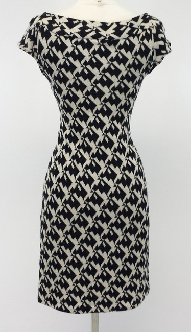 Diane von Furstenberg Wool Houndstooth Dress Image 2