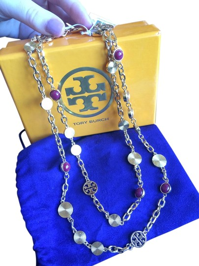 Preload https://item5.tradesy.com/images/tory-burch-gold-livia-double-strand-necklace-3709714-0-0.jpg?width=440&height=440