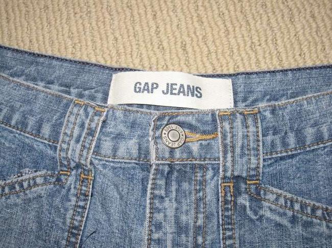 Gap Pockets Denim Shorts-Medium Wash