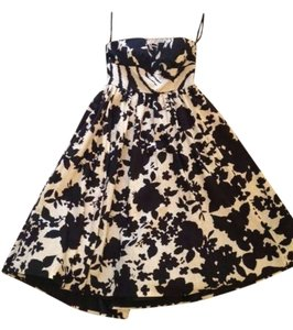 Tibi Midi Midcalf Petticoat Floral Vintage Mad Men Sweetheart Dress