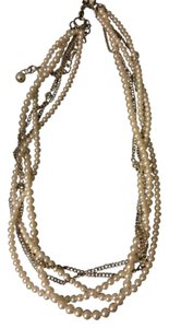 Nordstrom Pearl and Chain Necklace