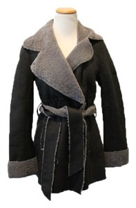 UGG Boots Shearling Lined Pea Coat