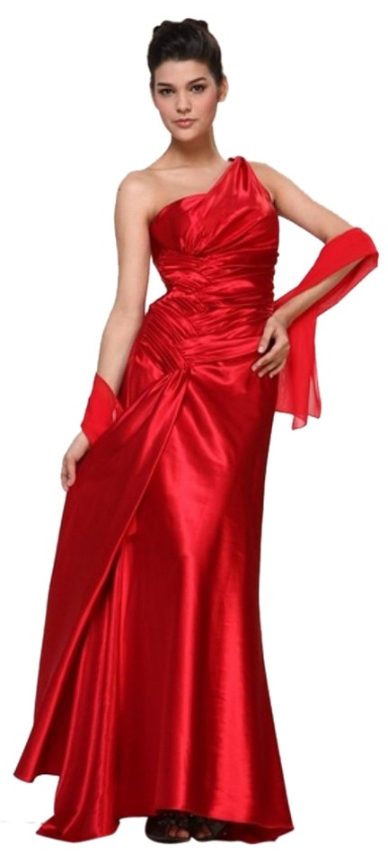 Cinderella Divine Red Style 7702 Long Formal Dress Size 12 (L) - Tradesy