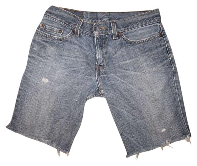 Levi's Denim Shorts-Medium Wash