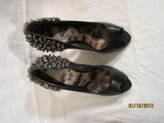 Sam Edelman Black w/ Rhinestones Pumps
