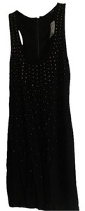 Forever 21 short dress Black Knit Studded on Tradesy