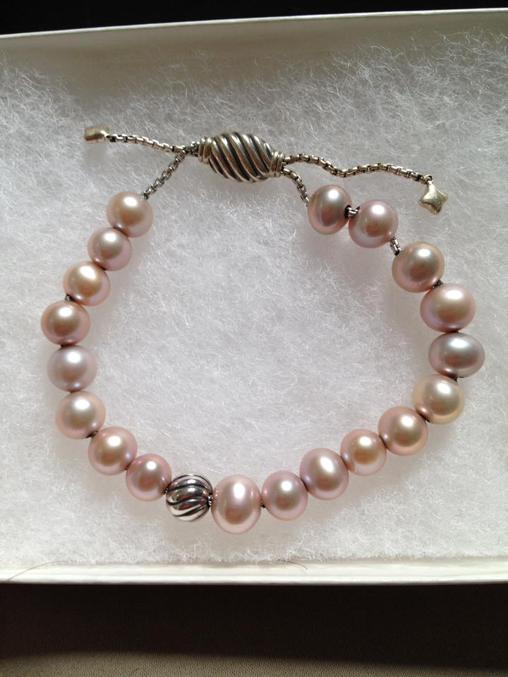 david yurman pink cultured pearls sterling silver accent