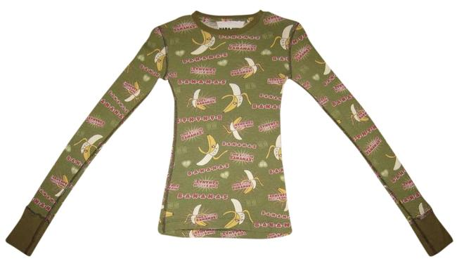 Preload https://item5.tradesy.com/images/harajuku-lovers-b-a-n-a-n-a-s-long-sleeve-olive-green-sweater-371404-0-0.jpg?width=400&height=650