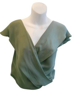 Haute Hippie Top Mint Blue