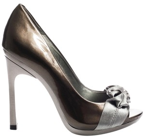 Carlos by Carlos Santana Old Silver Pumps