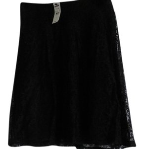 Express Lace Skirt Black