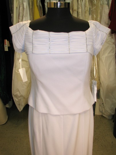 Daymor Couture Ice Crepe 4003 Mother Of Bride / Groom - - (Mr292) Traditional Bridesmaid/Mob Dress Size 12 (L) Image 1
