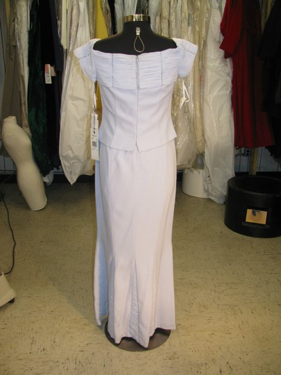 Daymor Couture Ice Crepe 4003 Mother Of Bride / Groom - - (Mr292) Traditional Bridesmaid/Mob Dress Size 12 (L) Image 2