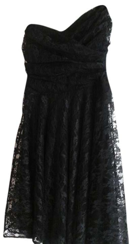 02475197bb5 Express Black Above Knee Cocktail Dress Size 2 (XS) - Tradesy