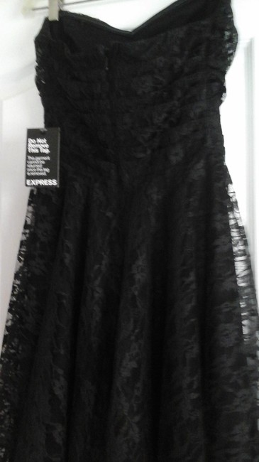 Express Strapless Sweetheart Lace Night Out Dress