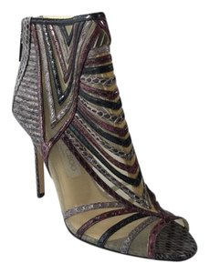Jimmy Choo Kara Snakeskin Multicolored Boots