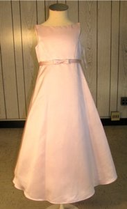 Ladybug Fashion-style 2014 Flowergirl Dress- -size 6-pink (mr-211)