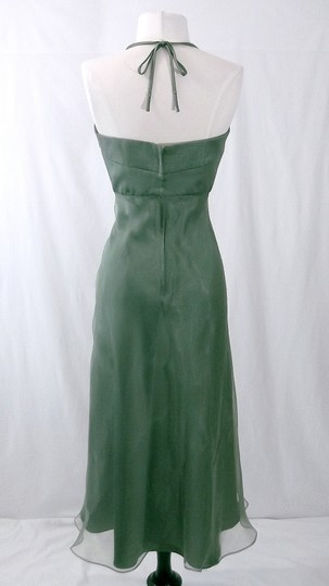 Alfred Angelo Clover Organza / Satin Style 6556 Casual Bridesmaid/Mob Dress Size 10 (M) Image 6