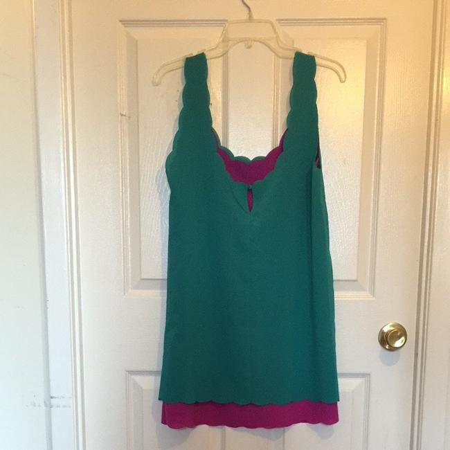 Lucca Couture short dress Green And Purple on Tradesy
