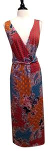Multi Colors Maxi Dress by Elementz Maxi Size 3x